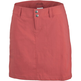 Columbia Saturday Trail Falda Mujer, red coral